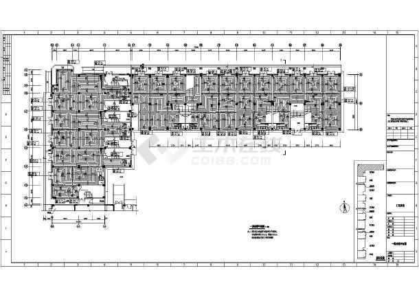 某小区住宅楼采暖图纸-图2