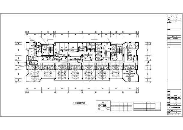玉环县某医院住院楼空调通风图纸图片