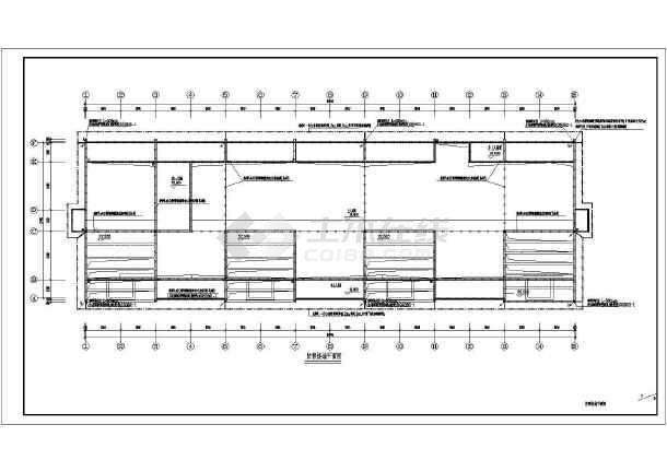 某大学宿舍楼电气施工图-图2