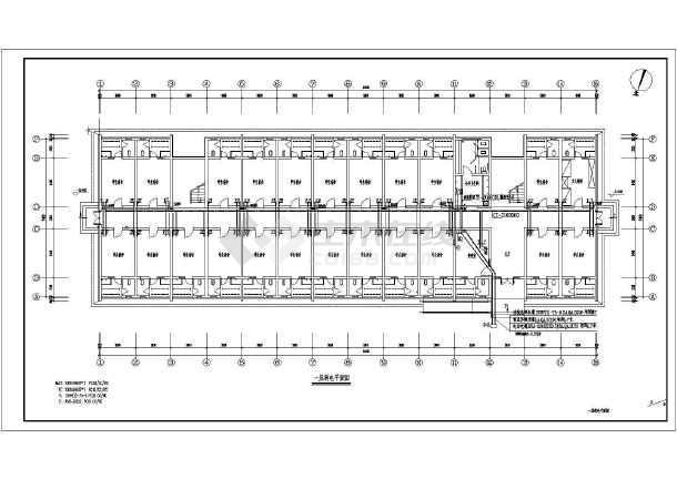 某大学宿舍楼电气施工图-图3