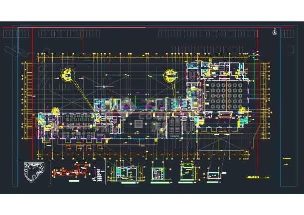 某四星级酒店全套CAD给排水图纸-图3