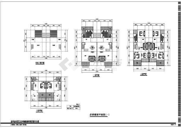三层别墅全套建筑设计施工图-图2