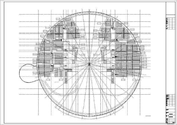 某图书档案馆暖通设计全套图纸-图1