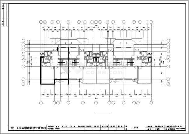 220平米别墅全套建筑设计图-图3