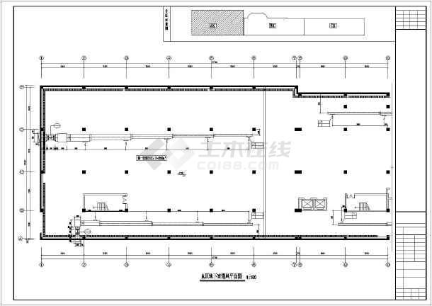 某商业楼暖通施工图-图1