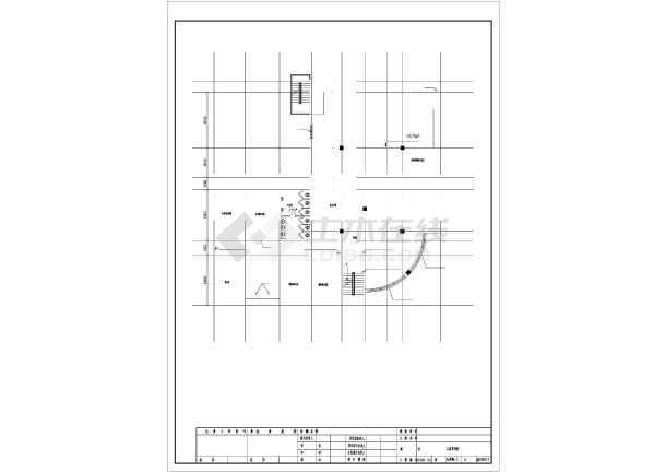 [哈尔滨]办公楼电气施工图纸(含建筑及沙龙365)-图2