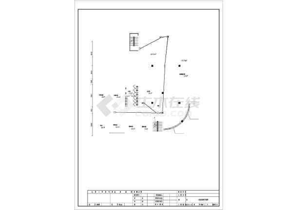 [哈尔滨]办公楼电气施工图纸(含建筑及沙龙365)-图3