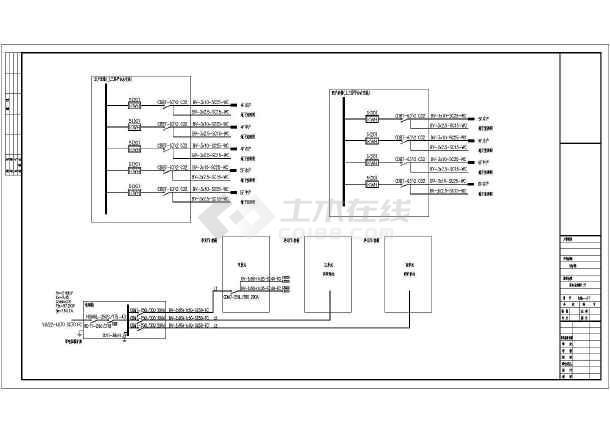 某住宅楼电气设计图-图1