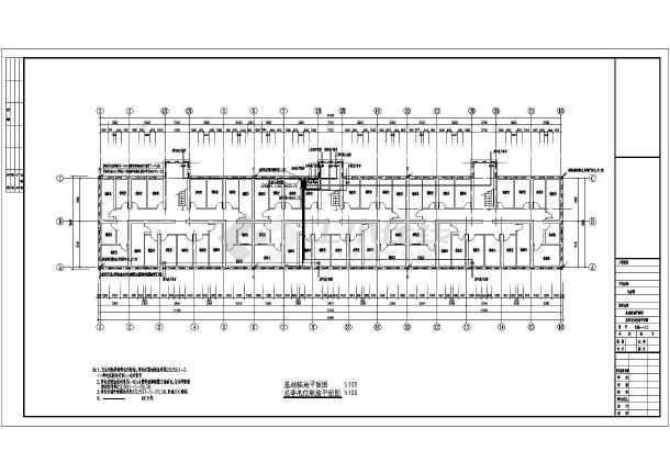 某住宅楼电气设计图-图2