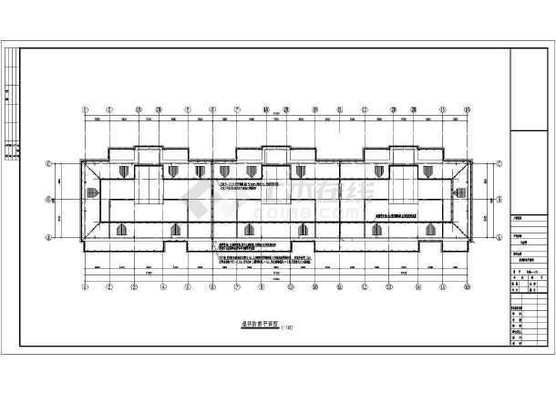 某住宅楼电气设计图-图3