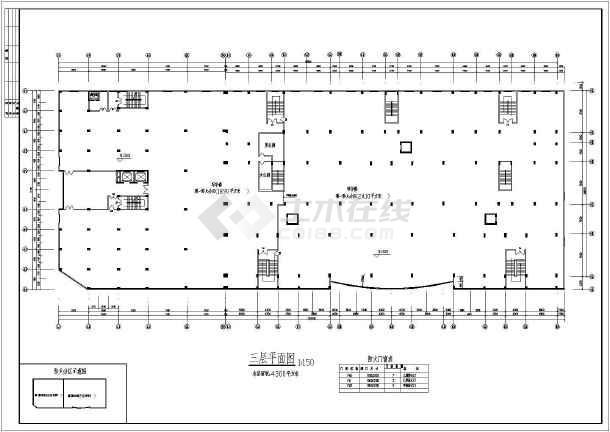 某小高层商业住宅楼施工图(共18张)-图3