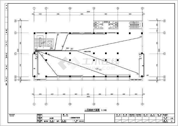 [江苏]大型办公楼全套电气施工图纸(包括消防设计)-图3
