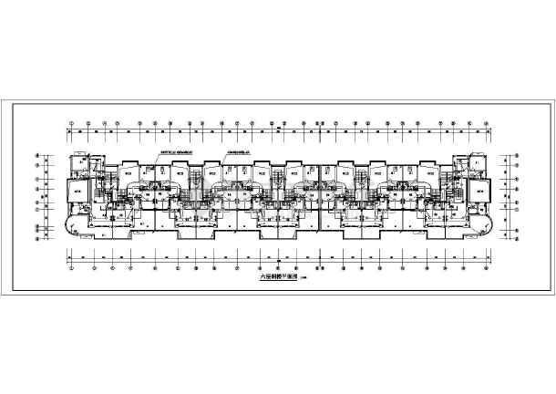 某商住楼电气施工图-图1