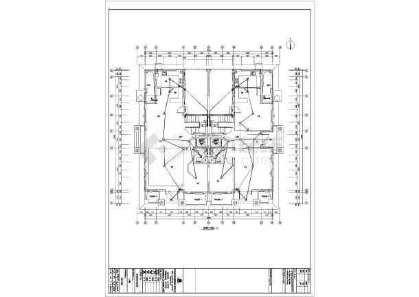 [河北]精装别墅全套电气施工图纸(甲级设计院)-图1