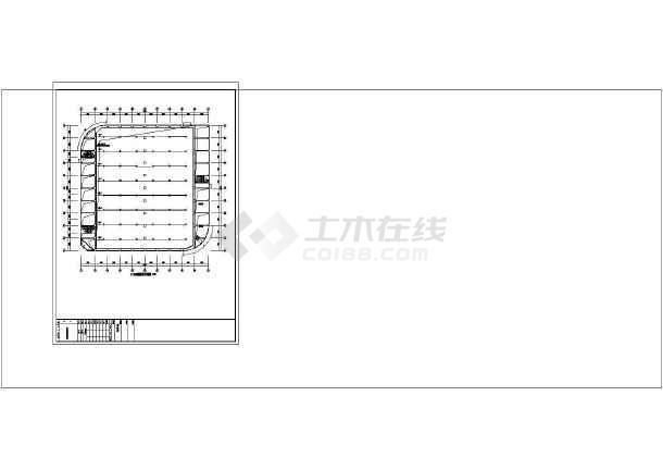 2016年某柔道、摔跤馆、体能馆实用电气图纸(综合布线接线图、有线电视接线图)-图2