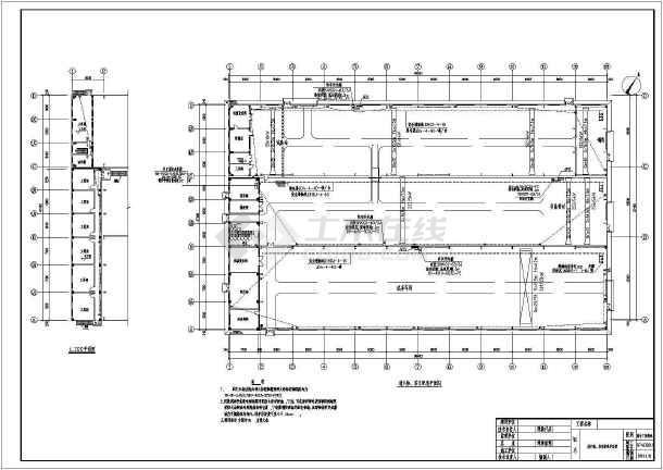 某公司综合厂房电气专业车间配电、照明、防雷、接地施工图-图2