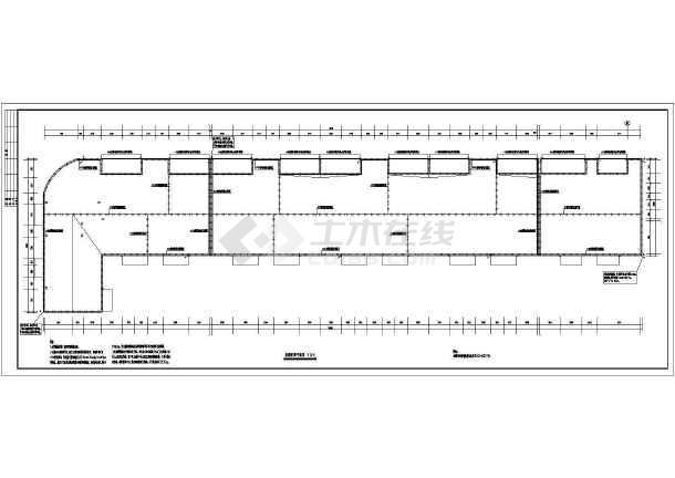 某砖混结构商住楼全套电气施工图(强电、弱电)-图1