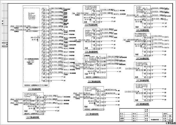 某二类高层商住楼全套电气施工图-图1