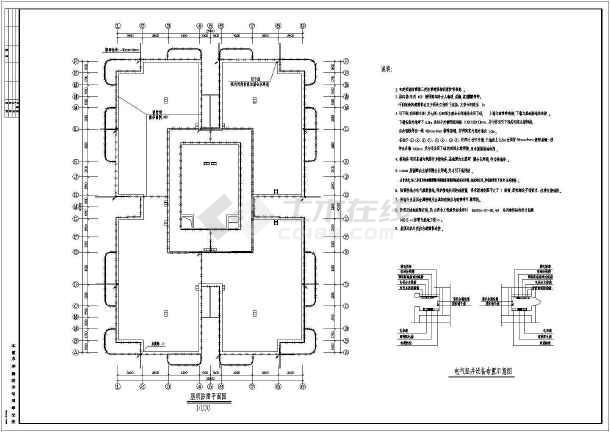 某18层住宅楼电气施工图-图1