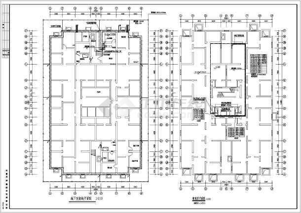 某18层住宅楼电气施工图-图2