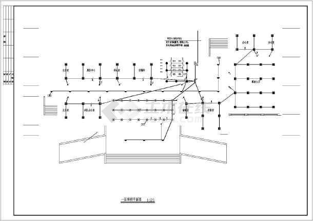 某办公楼配电系统设计图-图2