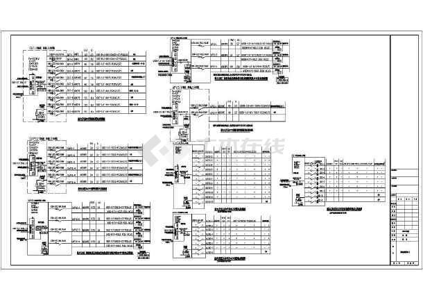 某大厦地下室电气全套最新图纸(接地、消防、动力、照明设计)-图1