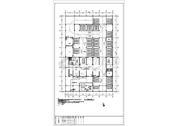 某大厦地下室电气全套最新图纸(接地、消防、动力、照明设计)-图2