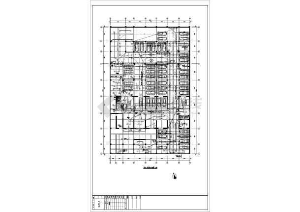 某大厦地下室电气全套最新图纸(接地、消防、动力、照明设计)-图3