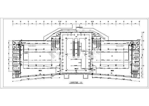 某车站电气设计施工图-图1