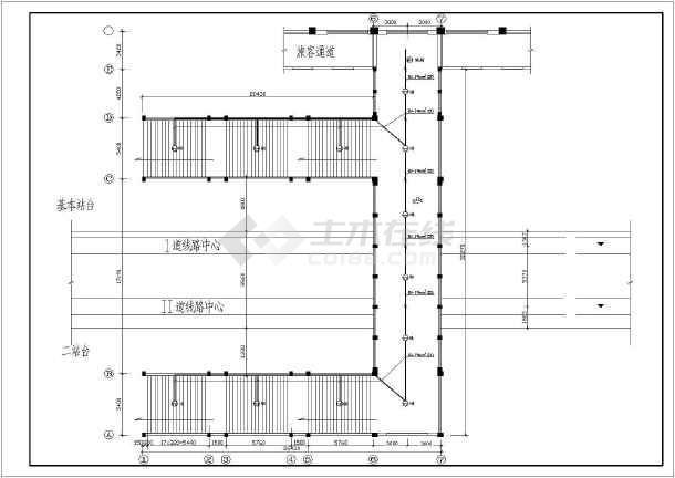 某车站电气设计施工图-图3