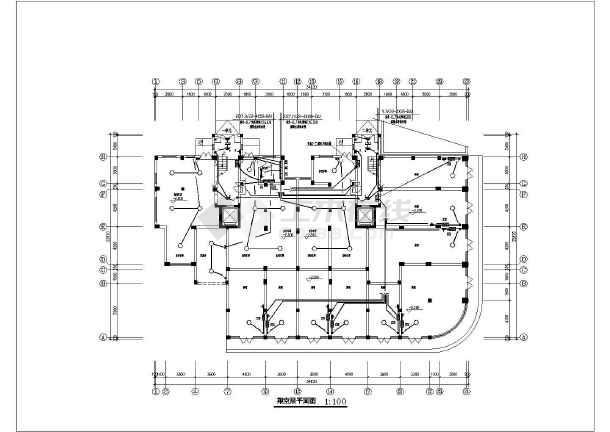 某经济适用房电气设计方案-图2