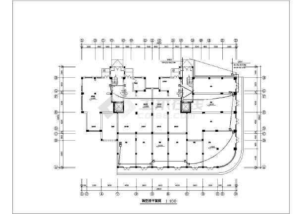 某经济适用房电气设计方案-图3