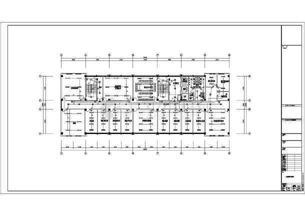 [施工图][安徽]医疗卫生综合楼强弱电施工图64张(新火规新照明)-图2