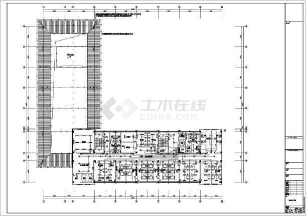 [施工图][安徽]医疗卫生综合楼强弱电施工图64张(新火规新照明)-图3