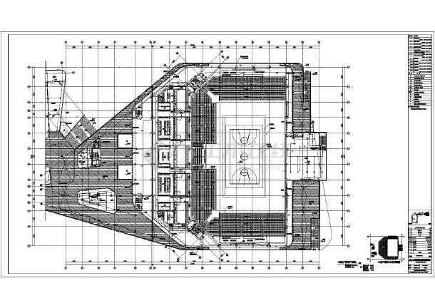 [江苏]某体育馆弱电施工图纸-图3