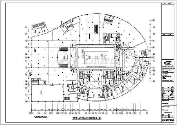 [重庆]体育馆、游泳馆火灾报警系统改造工程电气施工图-图3