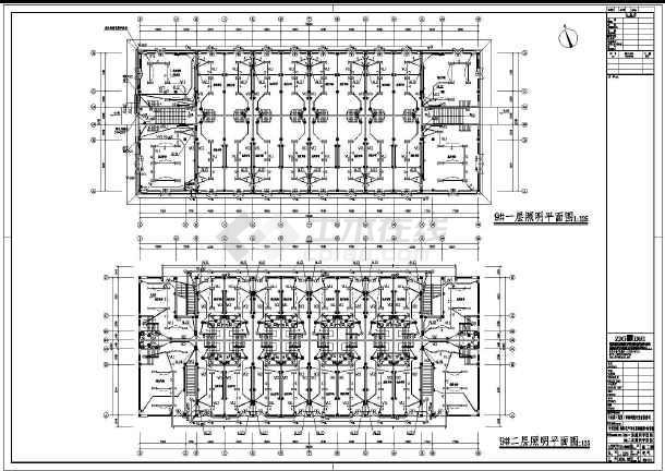 [安徽]批发市场商业楼电气施工图(2016最新设计)-图1