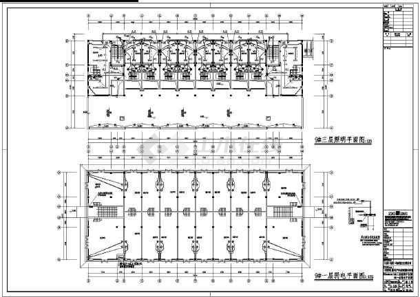 [安徽]批发市场商业楼电气施工图(2016最新设计)-图2