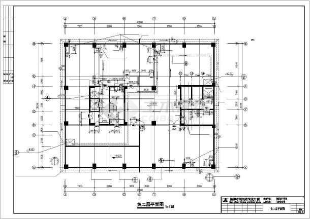 溆浦县医院设计cad施工图-图1