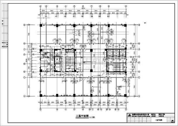 溆浦县医院设计cad施工图-图3