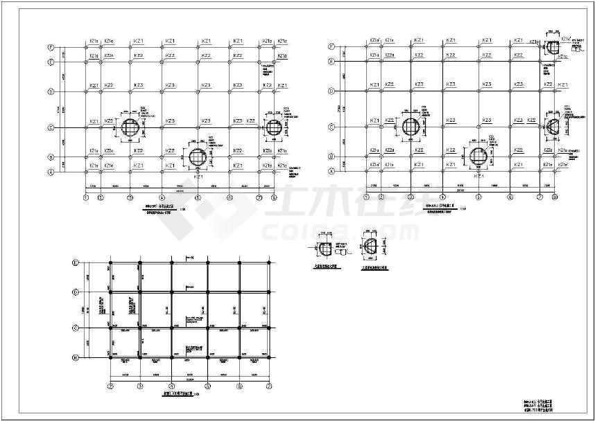 某庙宇结构施工图(含设计说明)-图2