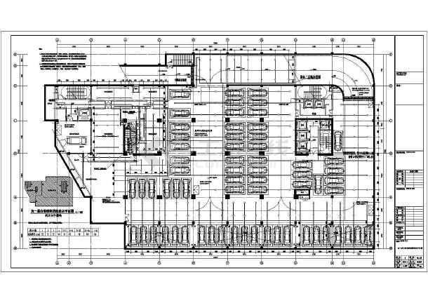 安徽60万平低密度复合建筑群给排水图纸-图3