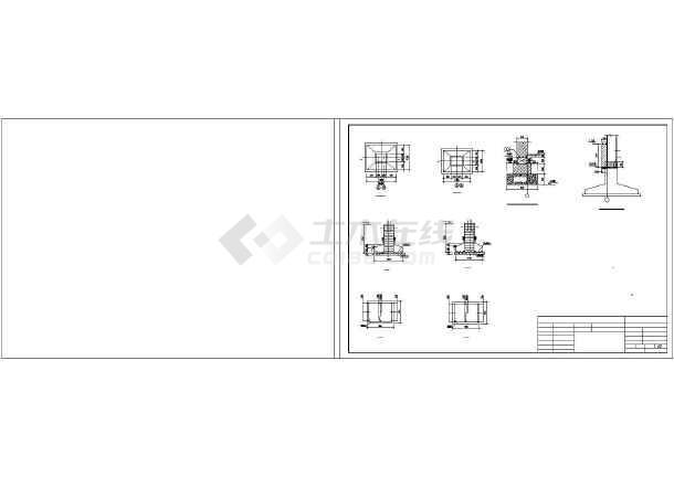 某轻钢结构羽毛球馆建筑结构设计图-图1