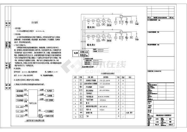 安徽34层综合楼给排水施工图-图2