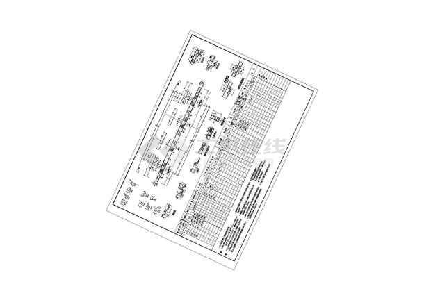 一整套古建筑圆亭建筑施工图纸-图2