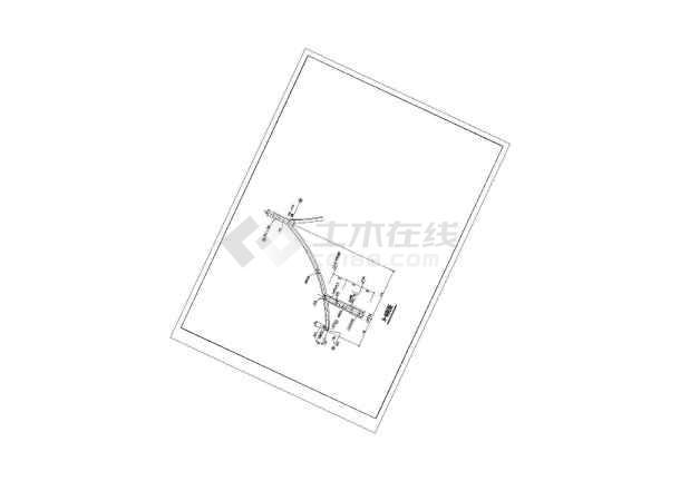 一整套古建筑圆亭建筑施工图纸-图3