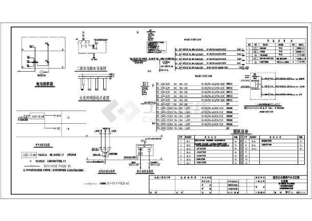 [黑龙江]某卫生院扩建工程电气施工图-图1