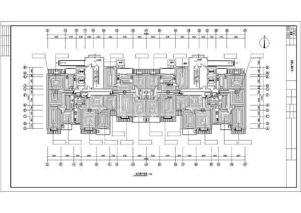 某十八层住宅楼采暖通风图纸-图1