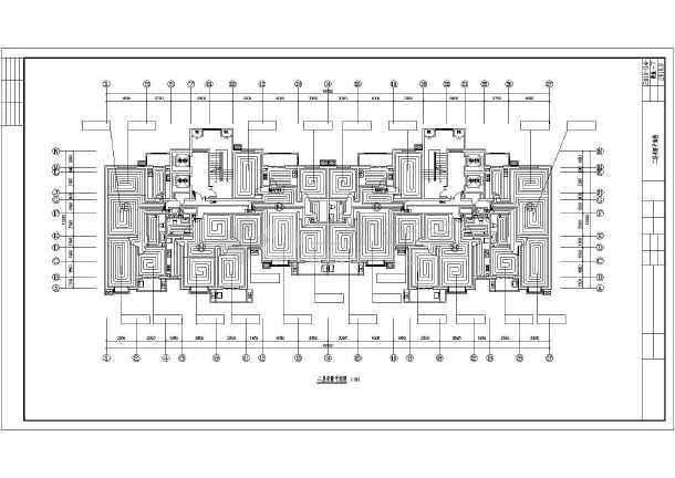 某十八层住宅楼采暖通风图纸-图2