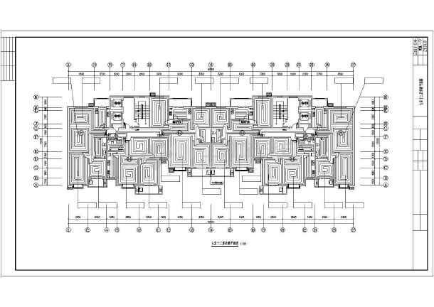 某十八层住宅楼采暖通风图纸-图3